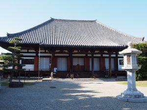 【法華寺本堂】日本有数の仏像「十一面観音菩薩立像」を安置する空間