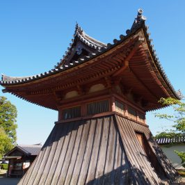 法華寺「鐘楼堂」