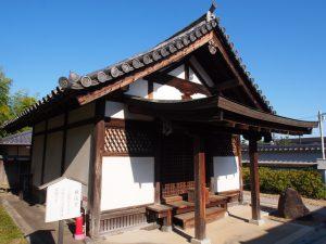 【法華寺横笛堂】『平家物語』ゆかりの法華寺境内最古の建築