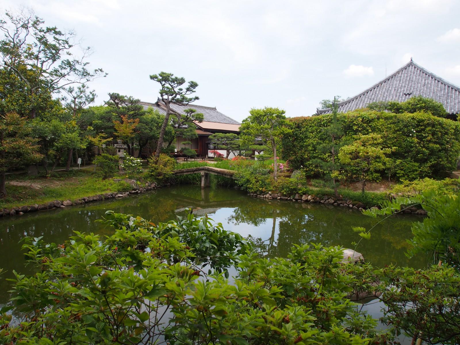 法華寺「名勝庭園」