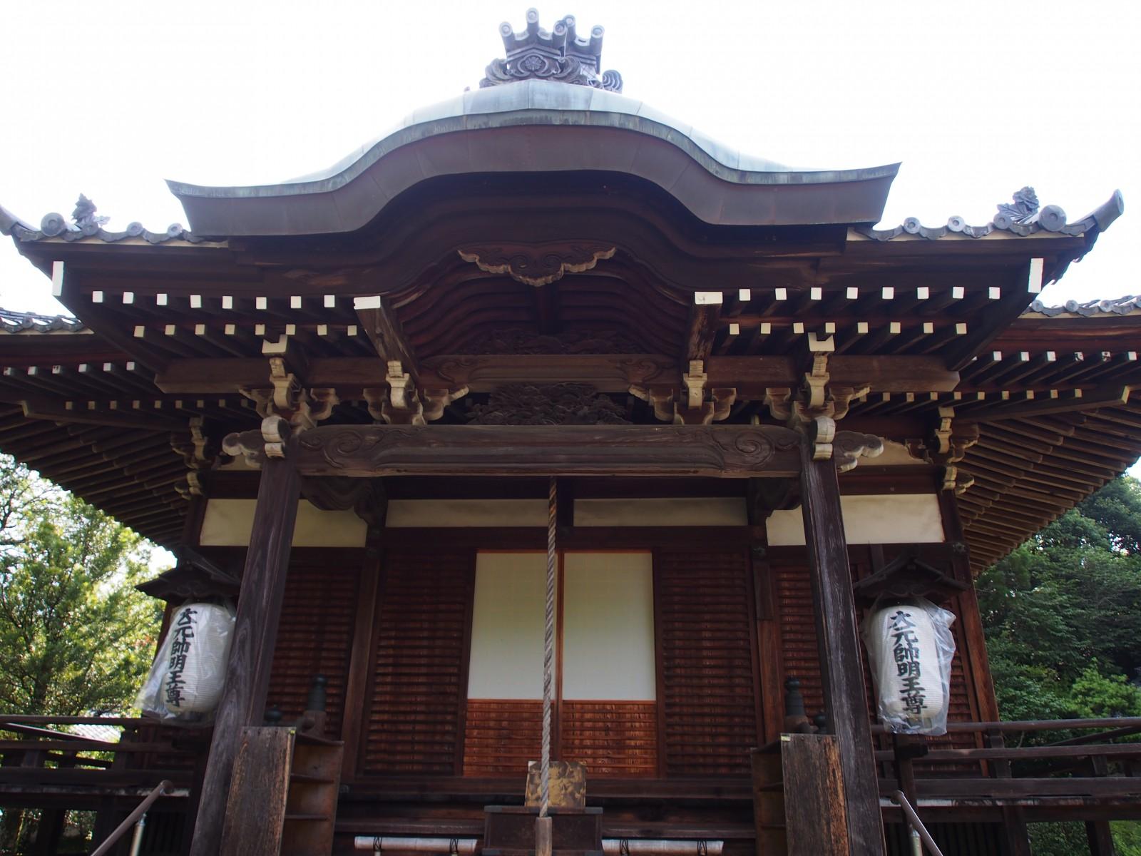 秋篠寺大元堂