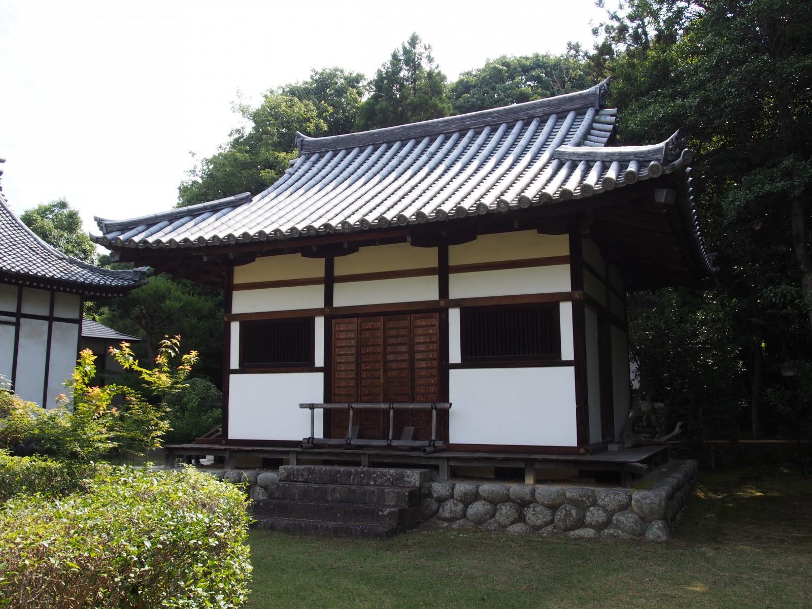秋篠寺「開山堂」