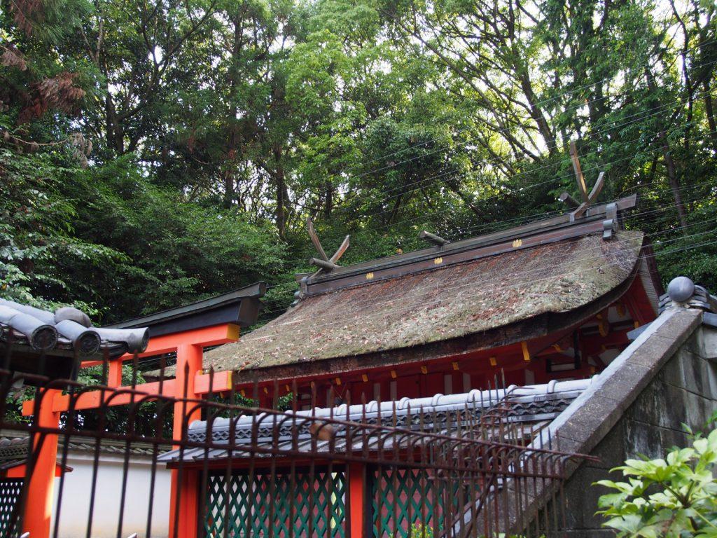 八所御霊神社の本殿