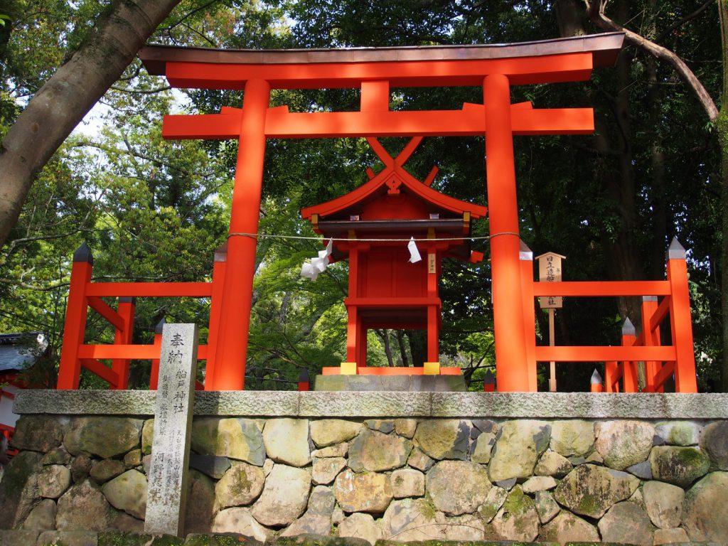 【船戸神社】春日大社の「交通安全の神様」は車で乗り付けて祈祷を受けることも可能