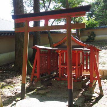 【五百立神社】大仏殿の建設に関わった工匠ゆかりの小さな神社