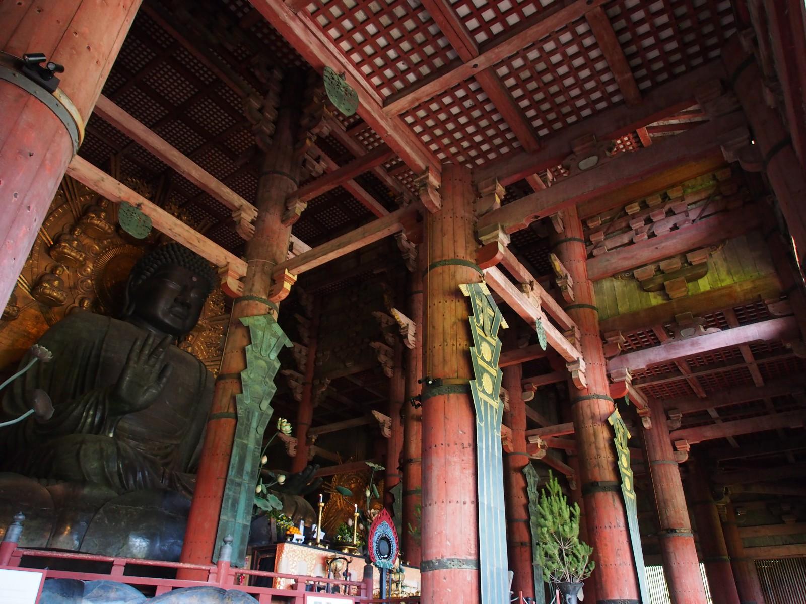 大仏殿の内部構造