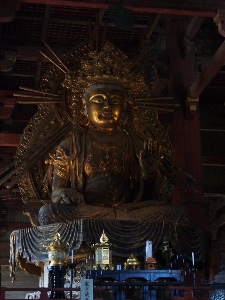 虚空蔵菩薩坐像(大仏殿)