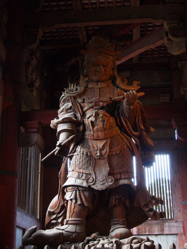 広目天立像(大仏殿)