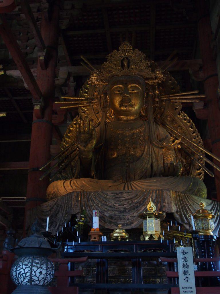 如意輪観音坐像(大仏殿)