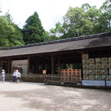 【春日大社車舎】天皇や勅使の乗る「車」を留め置く歴史ある施設