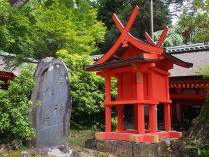 【井栗神社(春日大社)】本殿近くに祀られる「安産の神様」