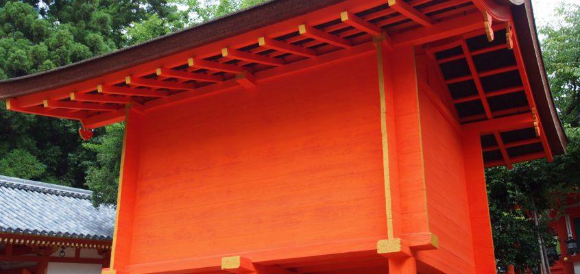 【春日大社宝庫】「春日祭」で用いられる「神宝」などを納める非常に重要な施設