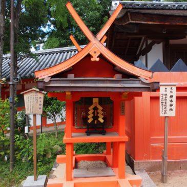 【椿本神社】「魔物」や「天狗」から春日大社を守る神様