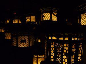 【春日大社藤浪之屋】「万燈籠」の風景が再現されている隠れたみどころ