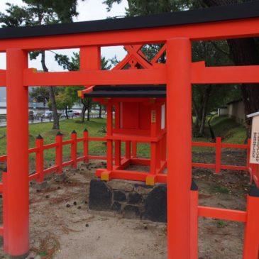 【拍子神社】興福寺の近くにある春日大社末社は「芸能の神様」