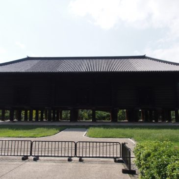 【正倉院「正倉」】「シルクロードの終着点」としても有名な校倉造りの宝庫