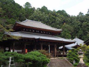 【弘仁寺】山辺の道沿いにある弘法大師ゆかりの山寺