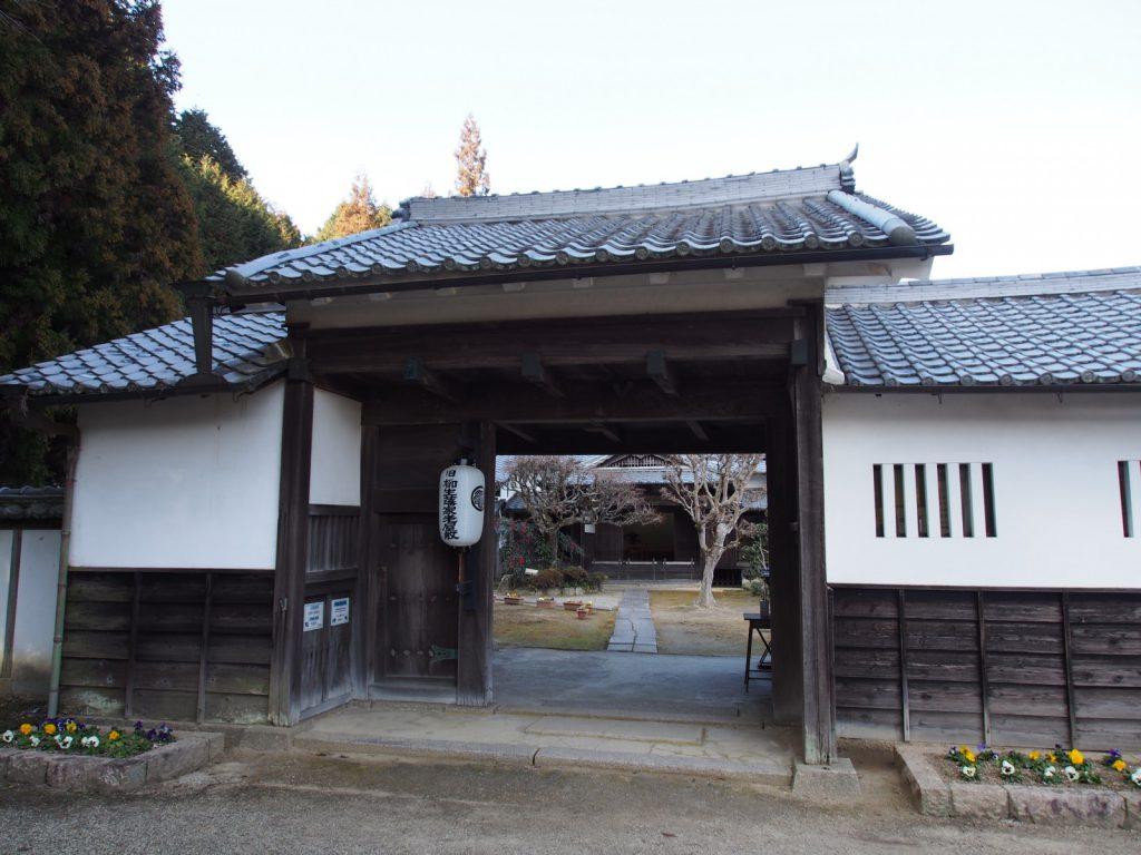 【旧柳生藩家老屋敷】奈良では唯一の「武家屋敷」は剣豪の里に