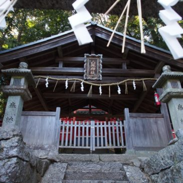【柳生八坂神社】美しい境内を有する柳生エリア最大の神社