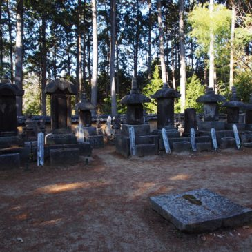 【柳生一族の墓】柳生家厳・柳生宗矩などの剣豪が眠る空間