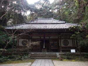 【王龍寺】富雄エリアの山中にある奈良では珍しい禅宗の寺院
