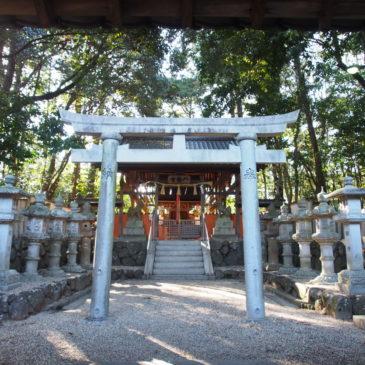【押熊八幡神社】かつての農村の深い信仰を集める空間には「忍熊皇子」関連の境内社も