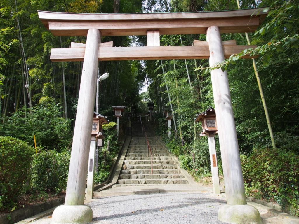 久延彦神社の鳥居