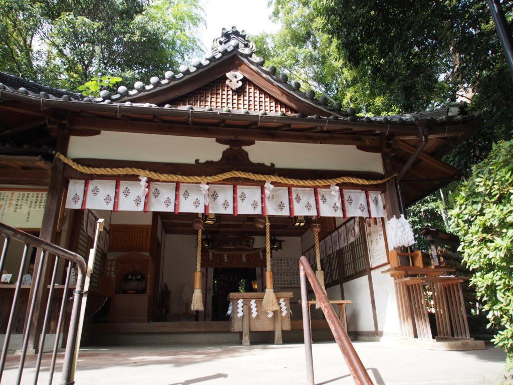 久延彦神社の社殿