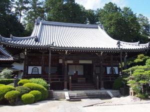 【九品寺】葛城古道沿いの眺めの良い古寺は「千体石仏」や広い庭園を有する