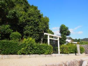 【吉備内親王墓】長屋王の妻が眠る墓は住宅街の一角に