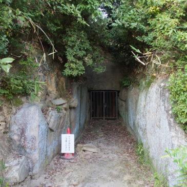 【烏土塚古墳】平群谷最大規模の前方後円墳は石室も見学可能