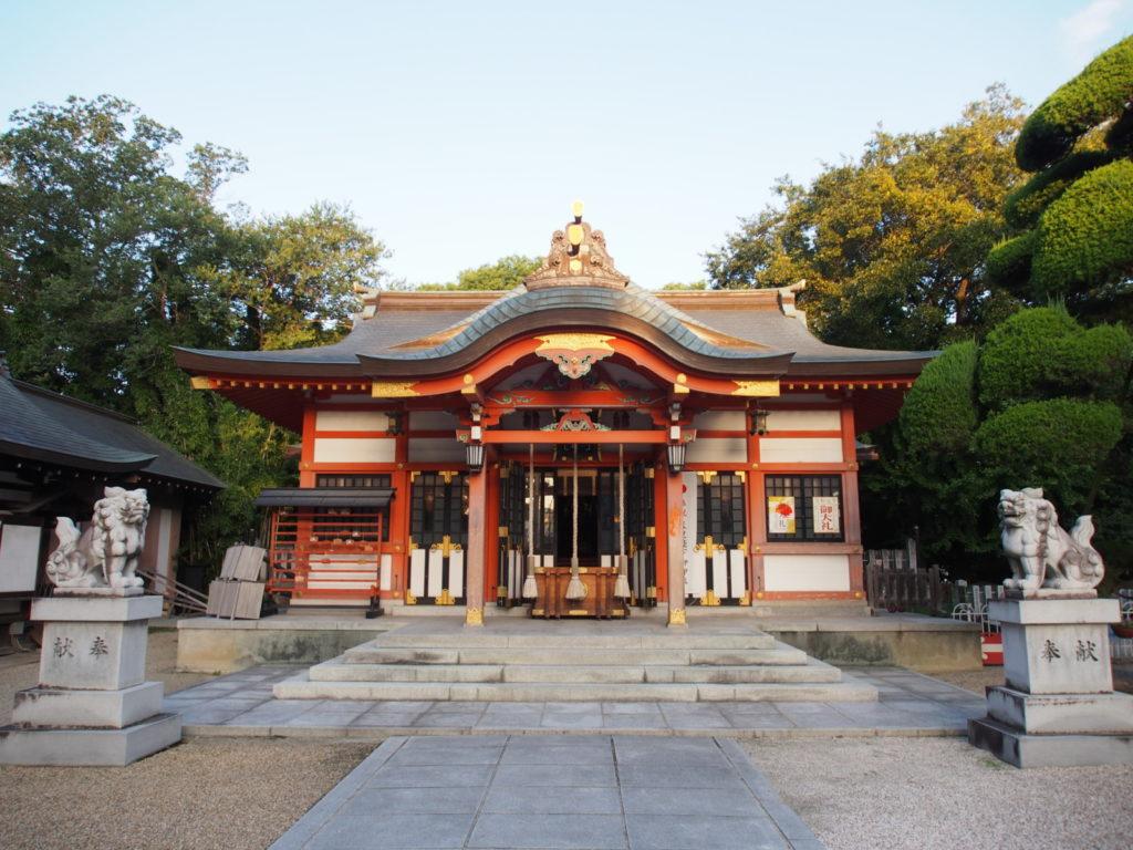 石園座多久虫玉神社の社殿