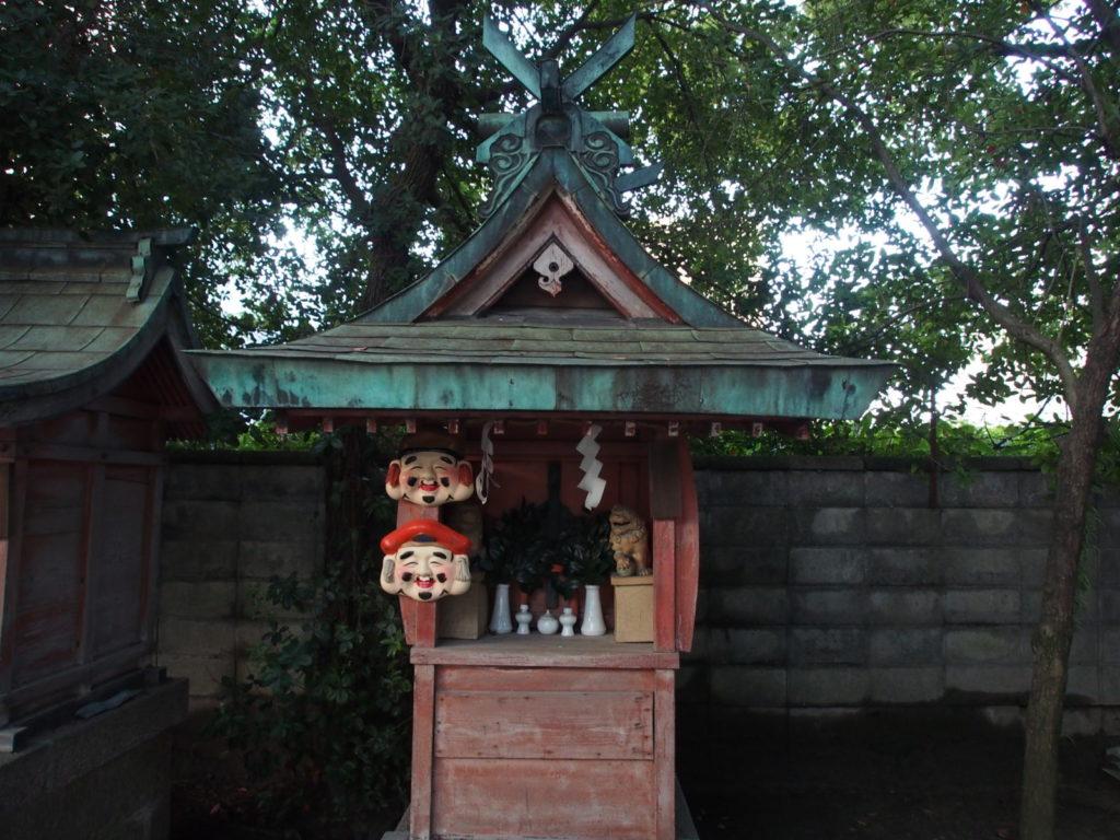 石園座多久虫玉神社境内社「恵比須神社」