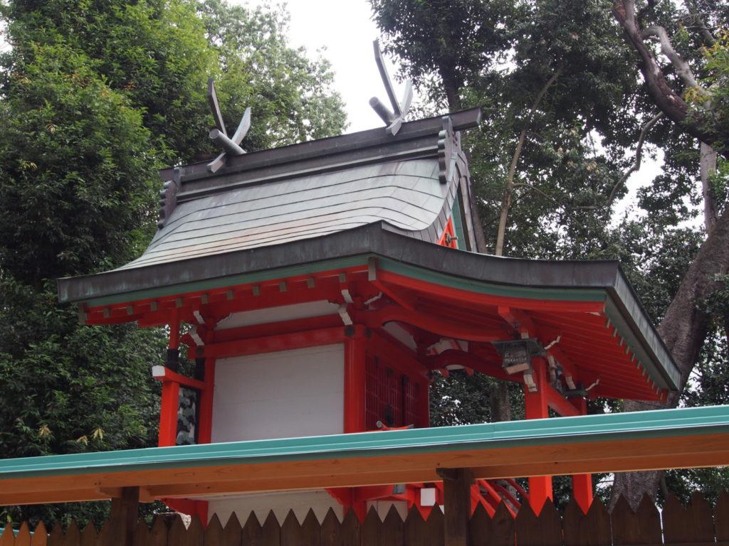 菅田神社(大和郡山市)の本殿