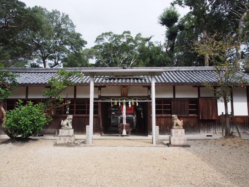 菅田神社(大和郡山市)の拝殿