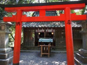 【成願稲荷神社】かつての大神神社神宮寺「浄願寺」の鎮守社