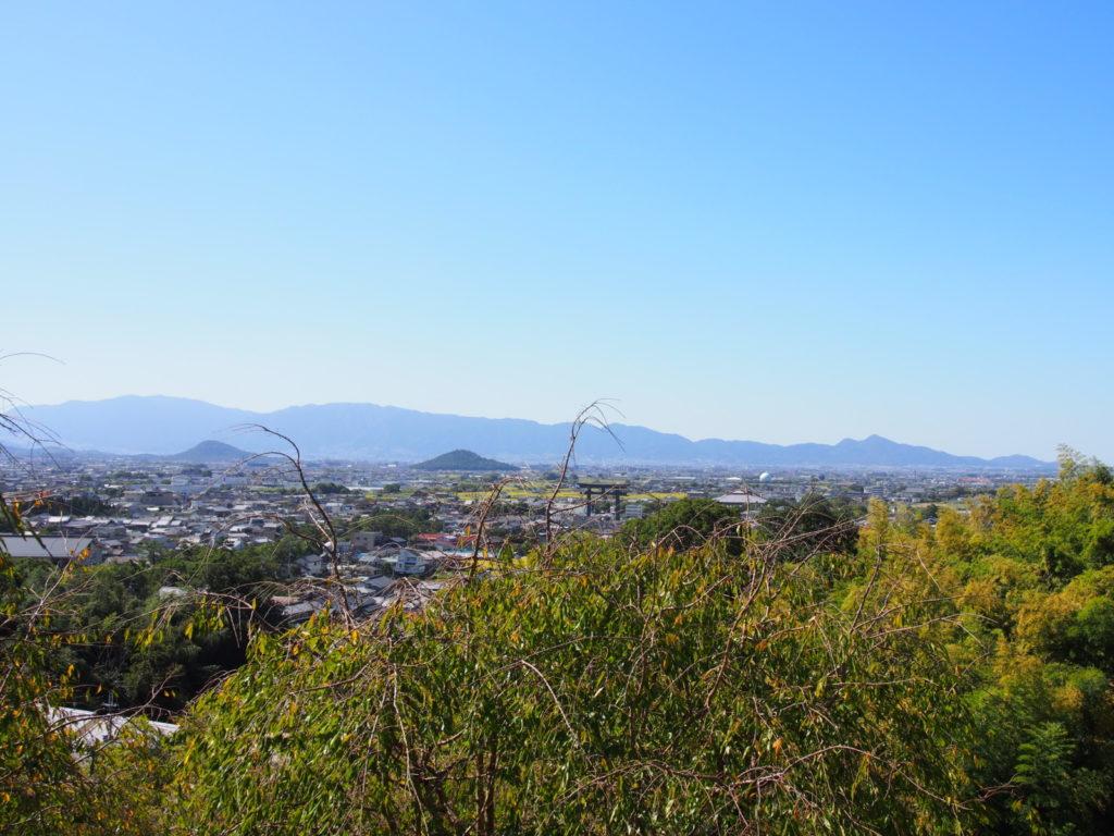 大美和の杜展望台からの眺望風景