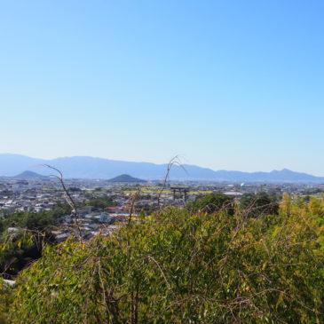 【大美和の杜展望台】大和三山・二上山・奈良盆地一帯を「三輪山麓」から望む空間