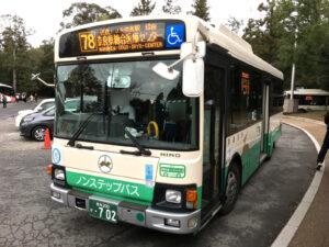 唐招提寺・薬師寺周辺の「バス停・バス路線」のご案内(行きと帰りで場所が違うことに注意!)