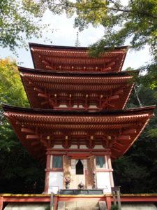 【浄瑠璃寺三重塔】平安時代に建立された国宝建築は秘仏の薬師如来を祀る