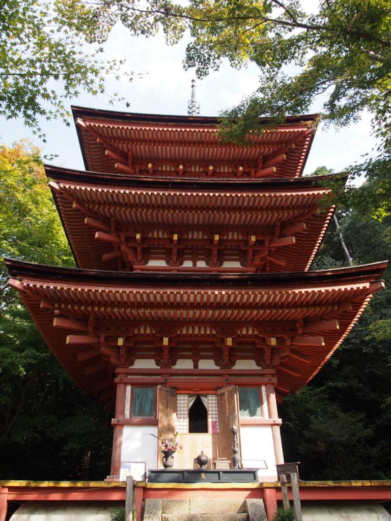 浄瑠璃寺三重塔