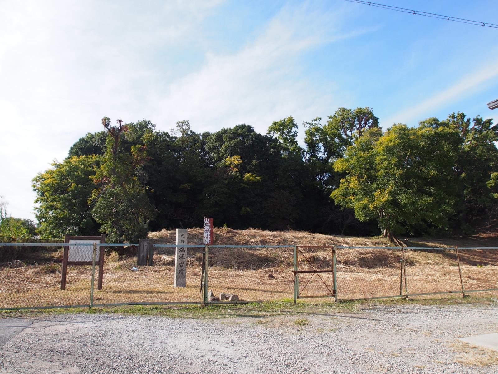 塩塚古墳(奈良・佐紀)の前方部