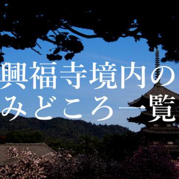 興福寺の各みどころ・観光スポットを全てご紹介!(境内の穴場スポット等も)