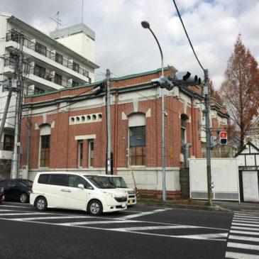 【旧大阪電気軌道富雄変電所】富雄駅前に建つ奈良では数少ない「近代の産業遺産」