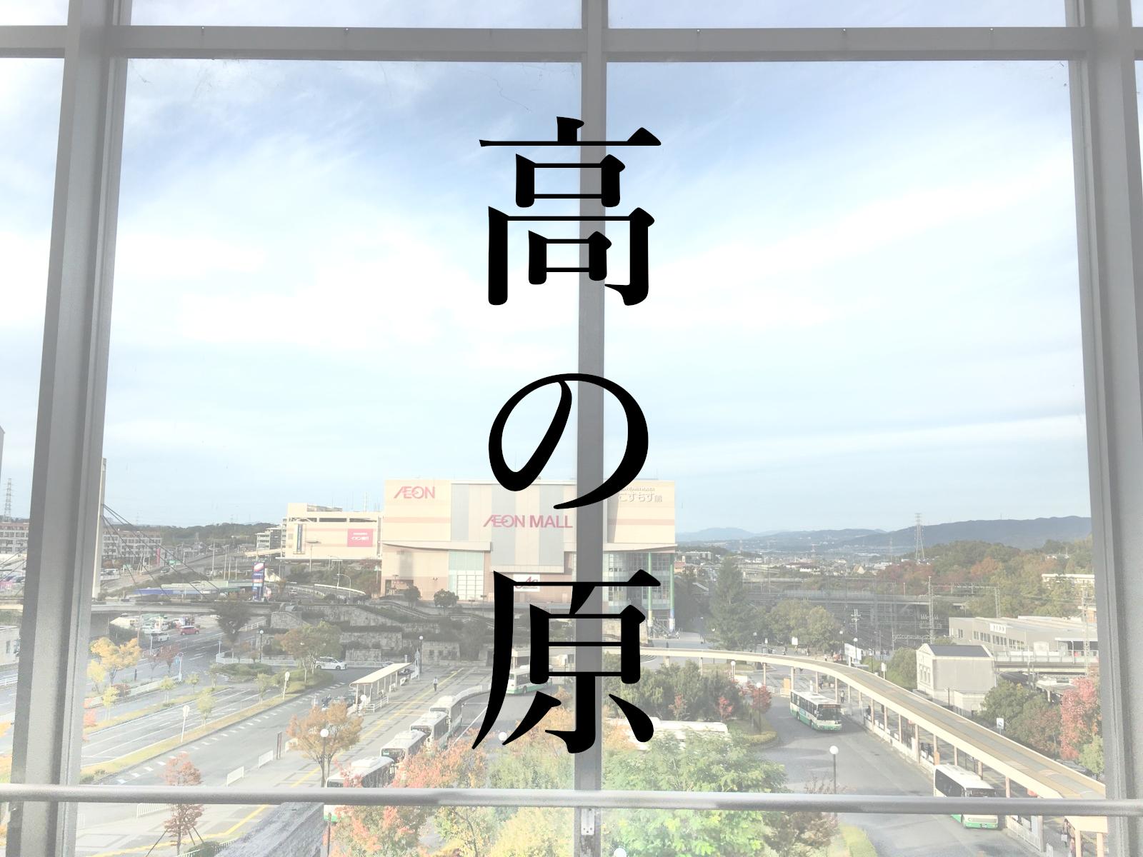 奈良「高の原駅」周辺エリア(平城ニュータウン)はどんな街?(生活 ...